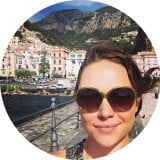 Nyssa on the Amalfi coast of Italy