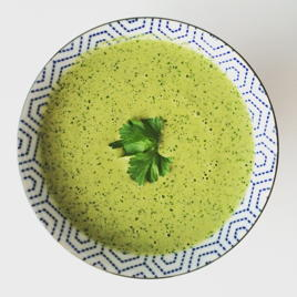 dreamy green sauce   www.nyssaskitchen.com