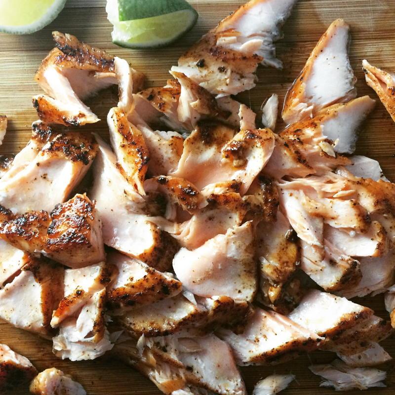 blackened salmon for blackened salmon tacos   www.nyssaskitchen.com