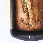 chocolate flecked banana bread | www.nyssaskitchen.com