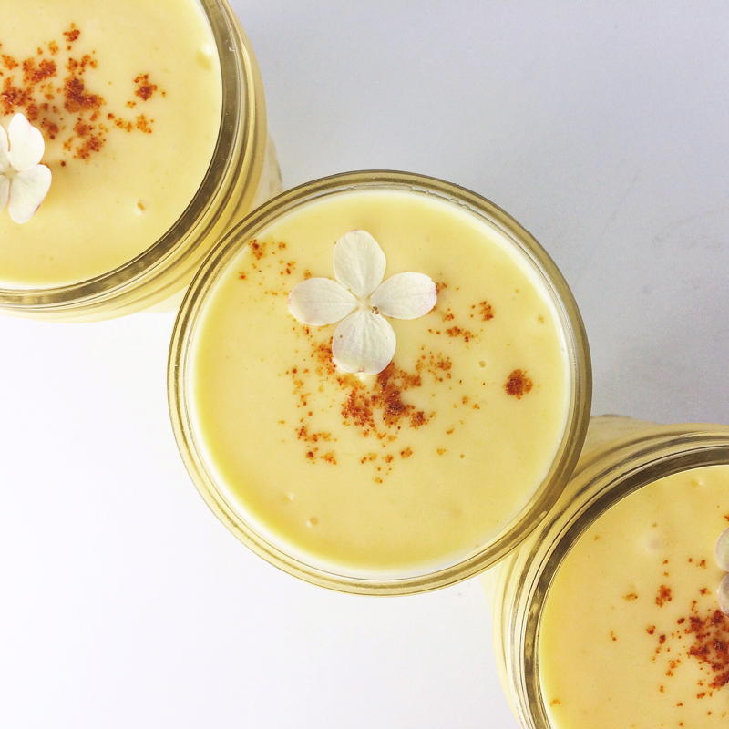 mango lassi with honey and cayenne | www.nyssaskitchen.com