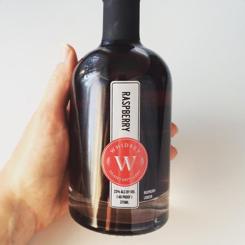 whidbey island distillery raspberry liquor | www.nyssaskitchen.com