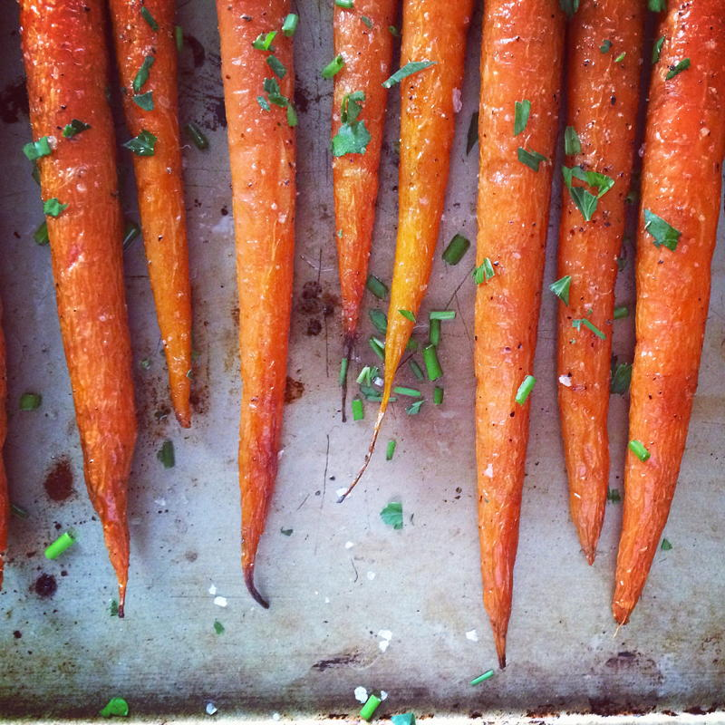 roasted carrots | www.nyssaskitchen.com