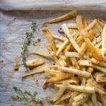 chili honey thyme glazed parsnips | www.nyssaskitchen.com