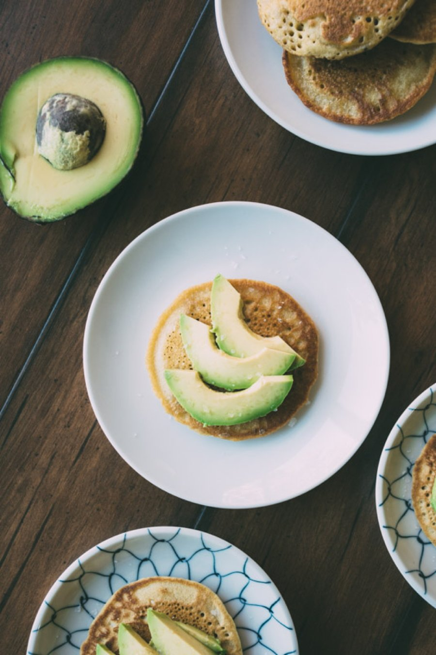 roasted-carrot-picnic-salad-with-sprouted-garbanzo-bean-pancakes-and-avocado