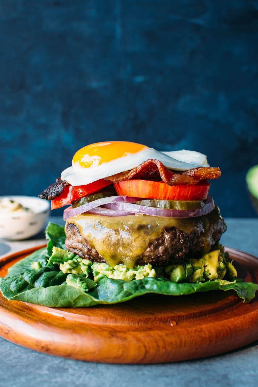 The Ultimate Bunless Burger Paleo Gluten Free Nyssa